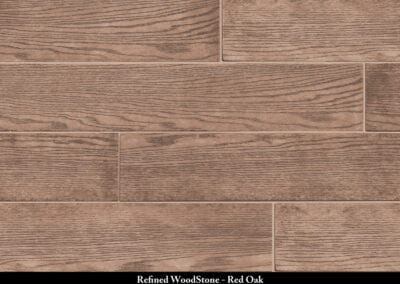 Wood Stone Manufactured Stone Red Oak